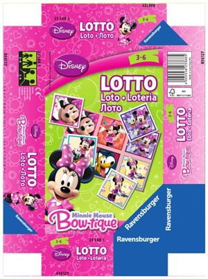 Ravensburger - Disney Myška Minnie Lotto hra