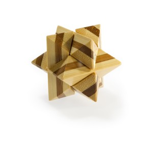 Hlavolam 3D bamboo - Superstar Puzzle