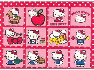 3D MAGNETY - Hello Kitty