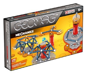 Stavebnice GEOMAG - MECHANICS M3 146pcs