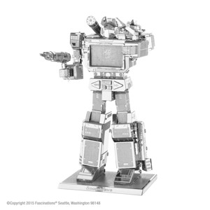 PIATNIK - Metal Earth Transformers Soundwave