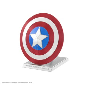 PIATNIK - Metal Earth Marvel Captain America Shiel