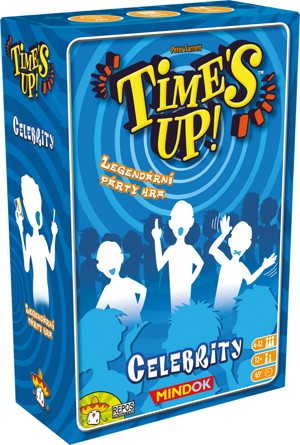 Party hra TIME´S UP - CELEBRITY